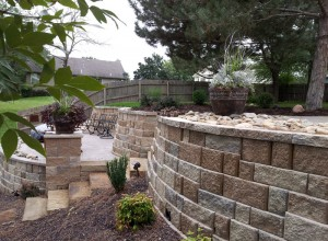Cutom Retaining Walls in Overland Park
