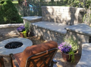 Retaining Wall and Patio in Kansas City Metro