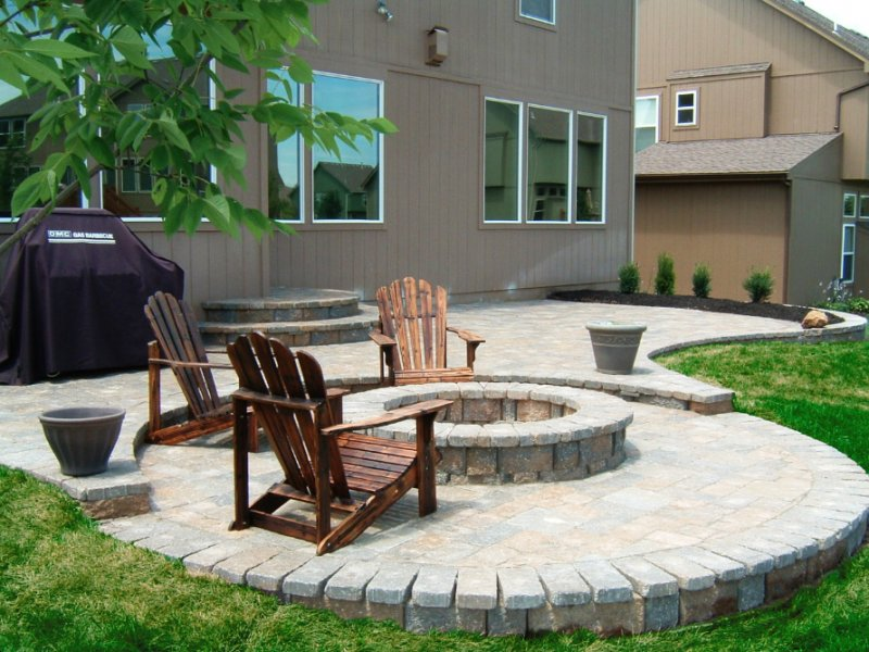 Paver Patio Design And Paver Install Lenexa Ks I Land