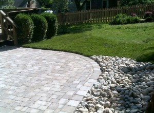 Paving Stone Pation in KC