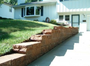 Custom Retaining Walls in Overland Park