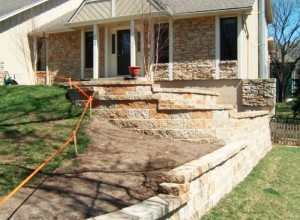 Retaining Wall in Lenexa