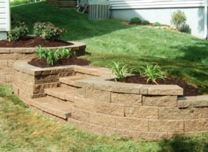 Custom Retaining Walls in Shawnee